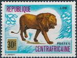 Central African Republic 1975 Wild Animals d