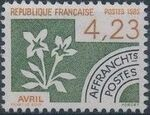 France 1985 Months of the Year - Pre-cancelled (1st Issue) c