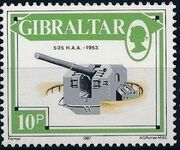Gibraltar 1987 Guns and Artillery f
