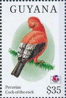 Guyana 1994 Birds of the World (PHILAKOREA '94) p