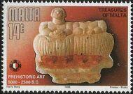 Malta 1996 Prehistoric Art b