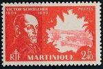 Martinique 1945 Victor Schoelcher l