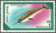 Mongolia 1990 Marine Mammals c