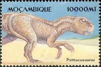 Mozambique 2002 Dinosaurs b