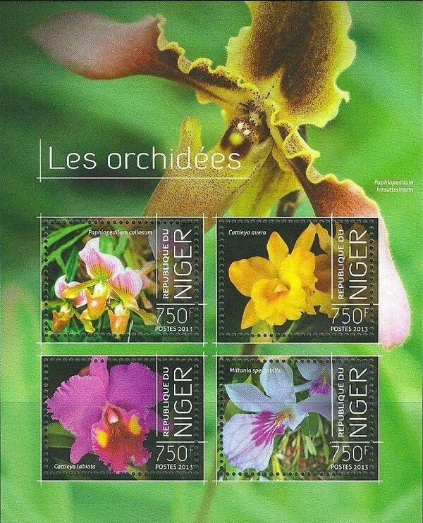 Niger 2013 Les Orchidées f