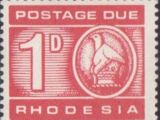 Rhodesia 1966 Postage Due Stamps