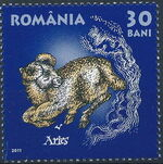 Romania 2011 Zodiac Signs (1st Group) a