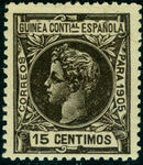 Spanish Guinea 1905 Alfonso XIII g