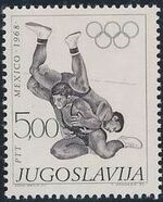 Yugoslavia 1968 19th Olympic Games, Mexico City f