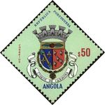 Angola 1963 Coat of Arms - (1st Serie) d