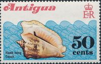 Antigua 1972 Sea Shells d