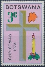 Botswana 1972 Christmas b