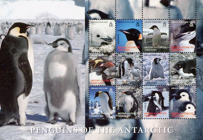 British Antarctic Territory 2006 Penguins of the Antarctic Sa