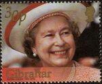 Gibraltar 2002 H.M. Queen Elizabeth II Golden Jubilee d