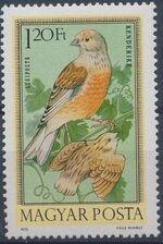 Hungary 1973 Birds e