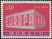 Monaco 1969 Europa a