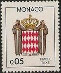Monaco 1985 National Coat of Arms - Postage Due Stamps (1st Group) a
