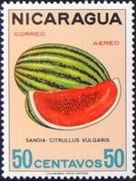 Nicaragua 1968 Fruits g