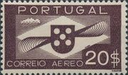 Portugal 1936 Symbol of Aviation (Air Post Stamps) f