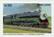Sierra Leone 1995 Railways of the World da