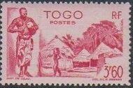 Togo 1947 Native Scenes k