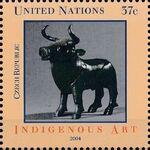 United Nations-New York 2004 Indigenous Art f