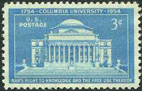United States of America 1954 200th Anniversary of the Columbia University a