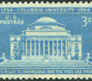 United States of America 1954 200th Anniversary of the Columbia University