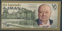 Ajman 1966 Winston Churchill k