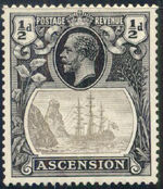 Ascension 1924 Seal of the Colony a
