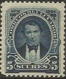 Ecuador 1894 President Vicente Rocafuerte h