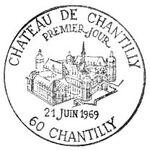 France 1969 Tourism - Chantilly Castle PMa