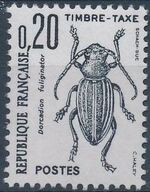 France 1982 Insects - Postage Due Stamps (1st Issue) b