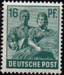 Germany-Allied Occupation 1947 2nd Allied Control Council Issue e