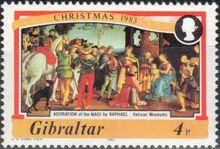Gibraltar 1983 Christmas a
