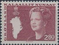 Greenland 1985 Queen Margrethe II a