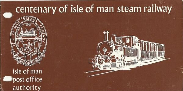 Isle of Man 1973 Centenary of Manx Steam Railroad pp