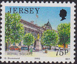Jersey 1990 Views of Jersey (3rd Group) d