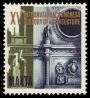 Malta 1967 15th Congress of the History of Architecture c