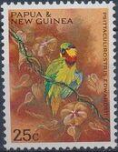 Papua New Guinea 1967 Parrots e