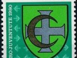 Switzerland 1980 PRO JUVENTUTE - Municipal Coat of Arms
