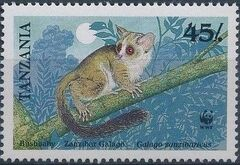 Tanzania 1989 WWF Zanzibar Galago d