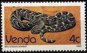 Venda 1986 Reptiles d