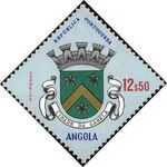 Angola 1963 Coat of Arms - (1st Serie) n