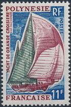 French Polynesia 1966 Boats b