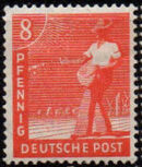Germany-Allied Occupation 1947 2nd Allied Control Council Issue c