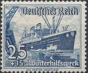 Germany-Third Reich 1937 Winter's Fund - Ships h