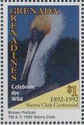 Grenada Grenadines 1995 100th Anniversary of Sierra Club - Endangered Species l