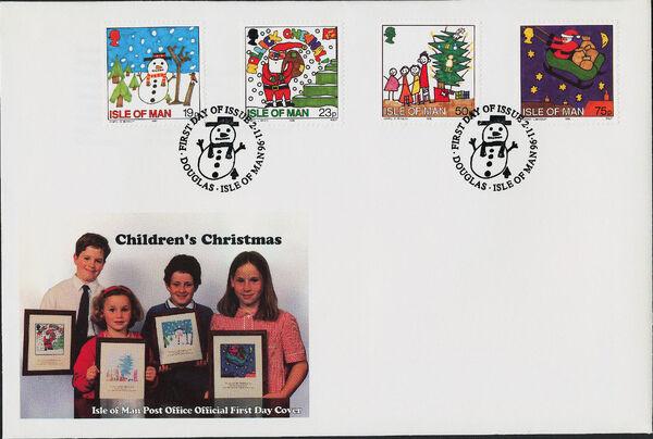 Isle of Man 1996 Christmas h
