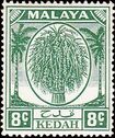 Malaya-Kedah 1952 Definitives (New values) b